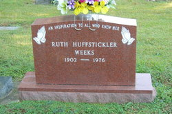 Ruth <I>Huffstickler</I> Weeks