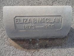 Eliza E. <I>Bagwell</I> McClain