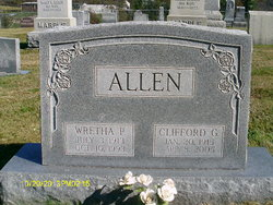 Clifford Gilmore Allen