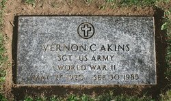 SGT Vernon Charles Akins