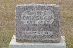 Dr Matthew William Edward Grimshaw