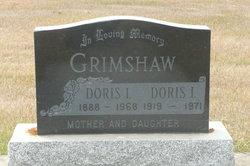 Doris <I>Fraser</I> Grimshaw