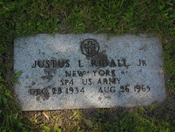 Justus Laverne Ridall Jr.