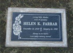 Helen K Farrar