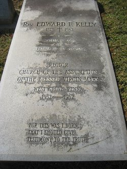 Rev Edward F. Kelly