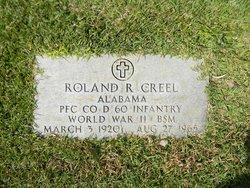 Roland Robert Creel