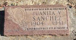 Juanita <I>Valdez</I> Sanchez