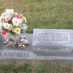 Annie Laurette <I>Couch</I> Campbell