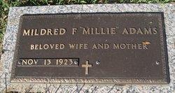 Mildred <I>Foster</I> Adams