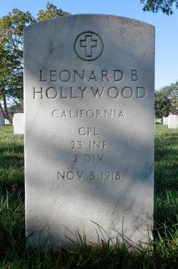 CPL Leonard Bazley Hollywood