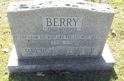Eleanor Margaret <I>Fisher</I> Berry