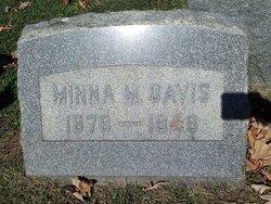 Minna Basnett <I>Murdock</I> Davis