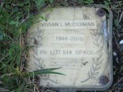Vivian Lucille <I>Fox</I> Muddiman