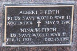 Albert F Firth