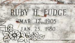 Ruby Violet <I>Hays</I> Fudge