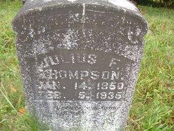 Julius F Thompson