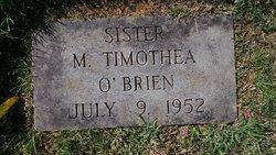 Sr M. Timothea O'Brien