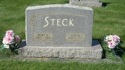 "Bertram Erwin ""Bert"" Steck"