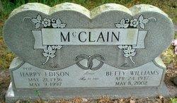 Betty <I>Williams</I> McClain