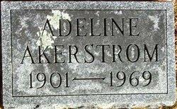 """Adeline Belle """"Addie"""" <I>Merrill</I> Akerstrom"""