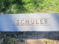 "Mary Lee ""Johnie"" <I>McGinnis</I> Schuler"