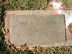 Roy R Thompson