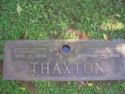 Emmie Myrtle <I>McGaughey</I> Thaxton