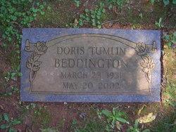 Doris <I>Tumlin</I> Beddington