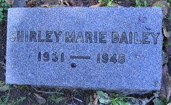 Shirley Marie Bailey