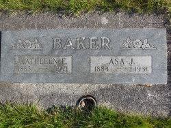 Kathleen E <I>Bishop</I> Baker