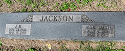 Allie <I>Smith</I> Jackson