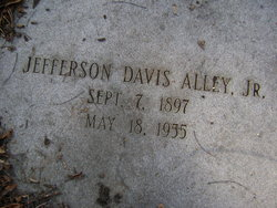 Jefferson Davis Alley, Jr