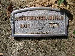 Mrs Frances J. Allen