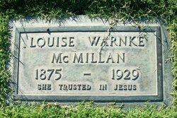 Louise Dorothea <I>Warnke</I> McMillan