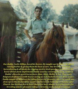 """Carl Edward """"Carlie"""" Billips"""