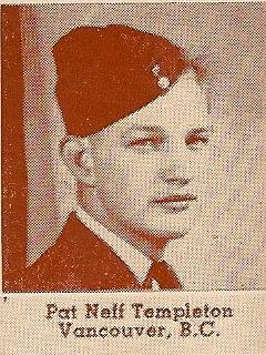 Sgt Pat Neff Templeton