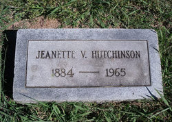 Cora Jeanette <I>Van Alstyne</I> Hutchinson