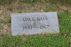 Ada C. <I>Wilson</I> Hays
