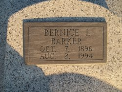 Bernice Irene <I>Henry</I> Barker