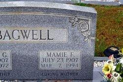 Mamie Florence <I>England</I> Bagwell