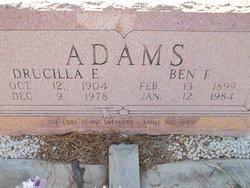 Drucilla E <I>Delozier</I> Adams