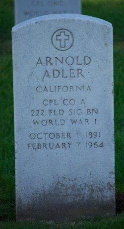 Arnold Adler