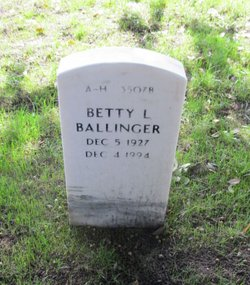 Betty L Ballinger