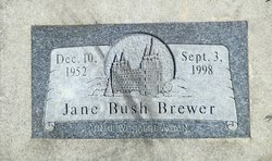 Jane <I>Bush</I> Brewer