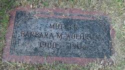 Barbara M <I>Stuessi</I> Woehrman