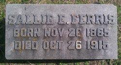 "Sarah Ellen ""Sallie"" <I>Thompson</I> Ferris"