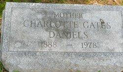 Charlotte <I>Gates</I> Daniels