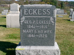 Mary Frances <I>McCue</I> Eckess