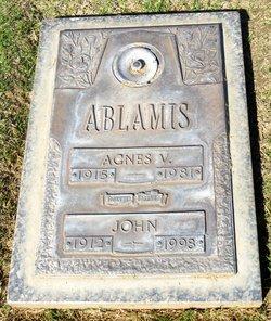 Agnes Vivian <I>Roney</I> Ablamis