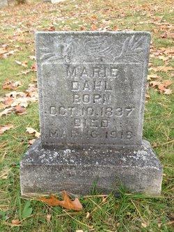 Marie <I>Hansen</I> Dahl